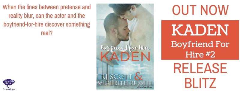 Release Blitz & Giveaway: Kaden by RJ Scott & Meredith Russell