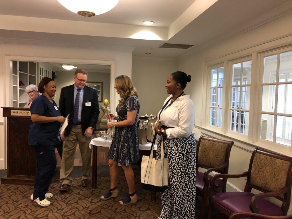 Virginia Health Services apprenticeship graduation