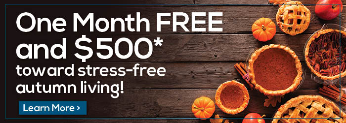 One Month Free and up to $500