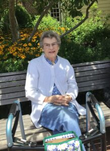 The Hamilton at The York resident Rose Marie Hopkins