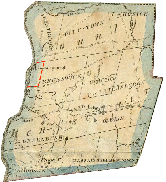"""Lay, Amos. """"Map of the State of New York."""" NY: Amos Lay, 1817. http://www.davidrumsey.com/luna/servlet/detail/RUMSEY~8~1~3690~340004:Map-Of-The-State-Of-New-York-"""
