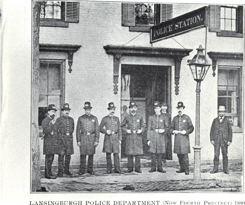 Lansingburgh Police Department 1880