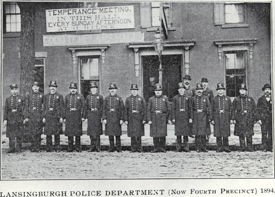 Lansingburgh Police Department (Now Fourth Precinct) 1894