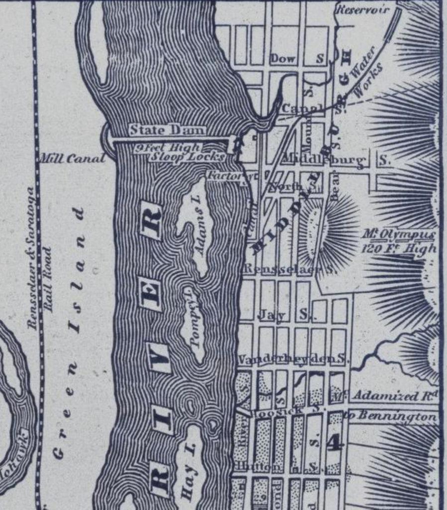 Gordon, Thomas F. Gazetteer of the State of New York. Philadelphia, PA: T.K. and P.G. Collins, 1836. 647.