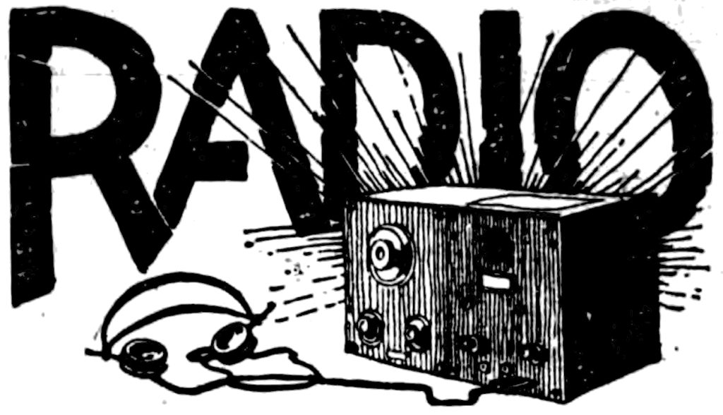 RADIO (accompanied by illustration of a radio with headphones)