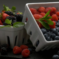 Berries, Shop With The Doc, photo of cartons of berries