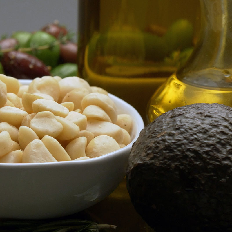 Healthy Plant-based Fats, Shop With The Doc, photo of avocado and nuts