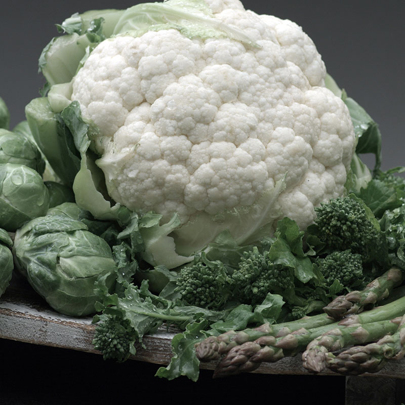 High Fiber Cruciferous Veggies, Shop With The Doc, photo of cauliflower