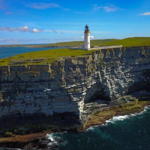 Lighthouse on Westray