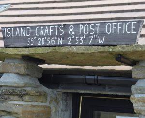 Papa Westray post office