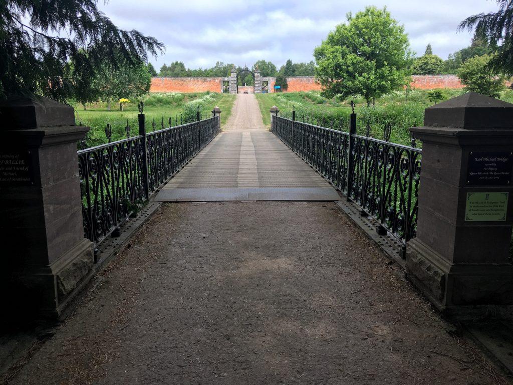 Bridge to walled garden