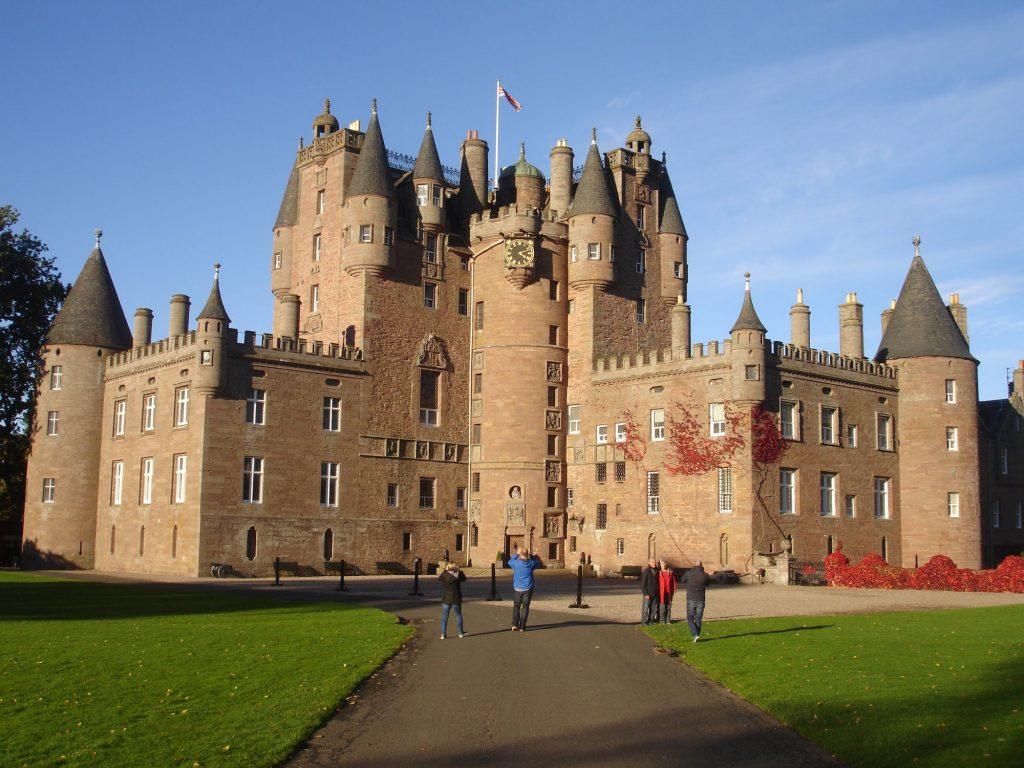 Glamis Castle front