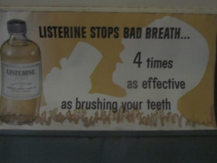 I am buying some of this, just imagine all the time I will save by not wasting time using a toothbrush. When you swallow it, your stomach feels nice and warm too. This has to be the most important lesson we learned at the railroad museum