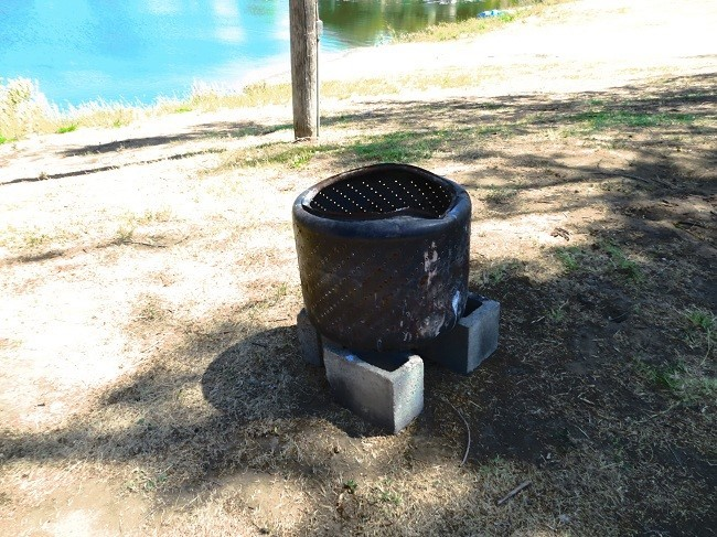 """This is something one does not often see. """"You might be a redneck; If you take the tub out your washing machine, and use it as a fire pit!"""" , but if your like me, I am good with it."""