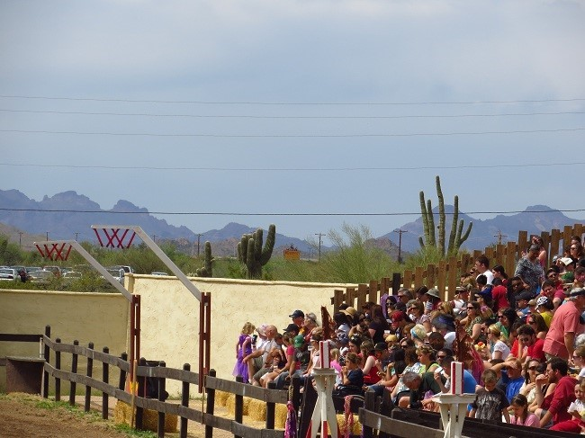 Some scenic proof that we are actually with 100 miles of Apache junction