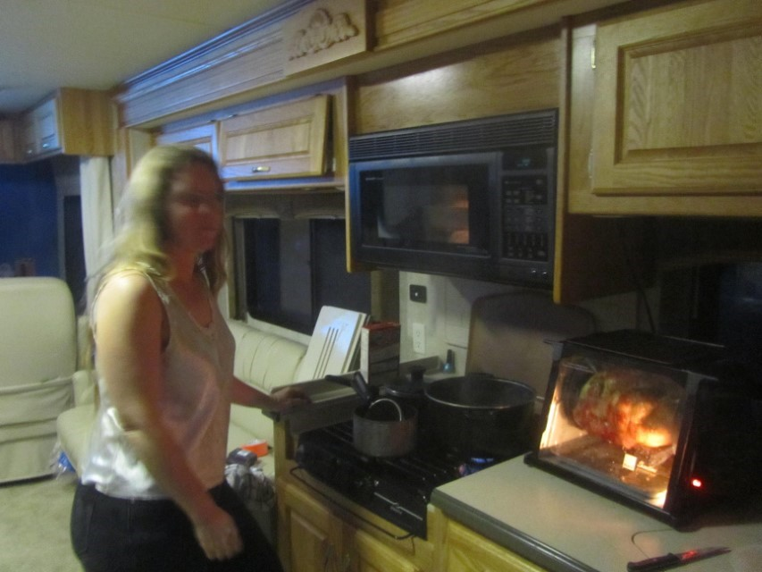 For the price of a flower, my wife slaves a way in the kitchen making me a killer supper.