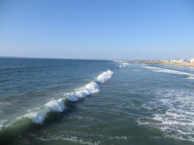 Just a look north from the pier.