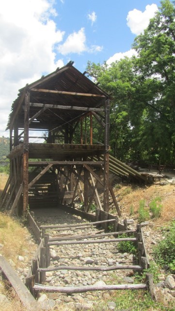 Sutters mill, where big nugget that started it all was found