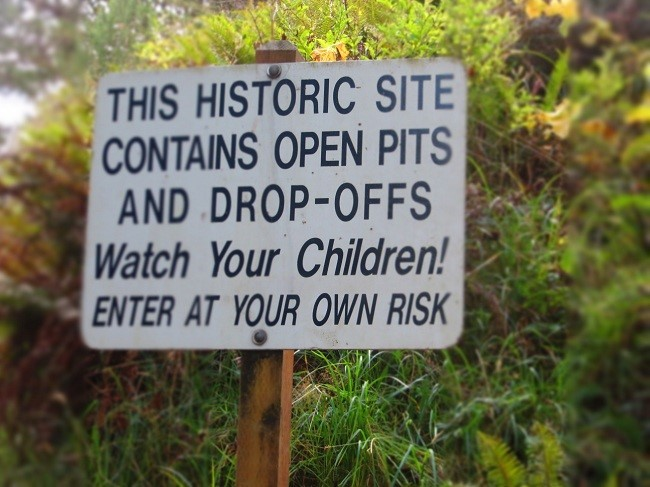 This place is scary! Don't say you have not been warned……