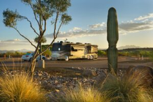RV Sites at Eagle view