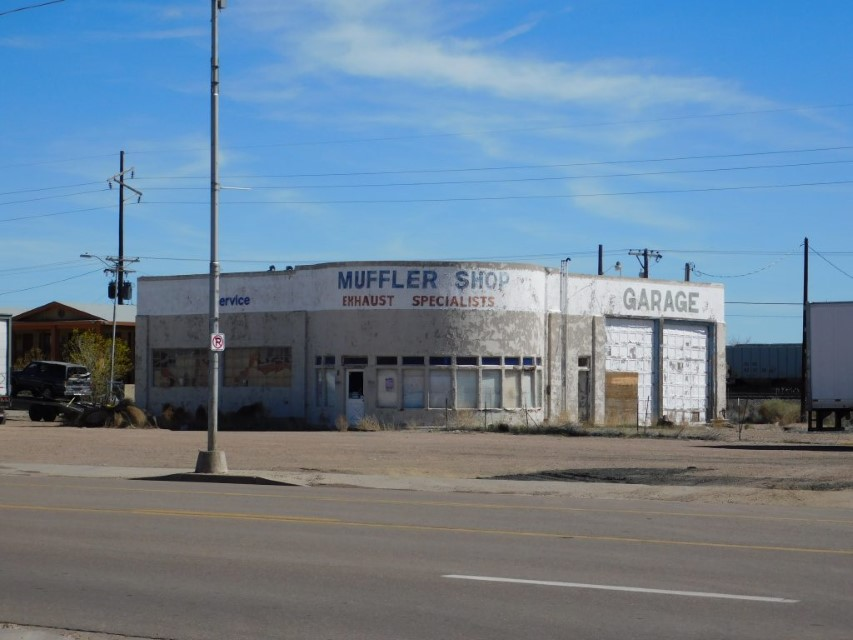 Remnant of a Lube shop