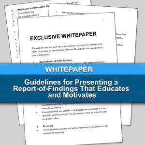 Guidelines for Presenting a Report-of-Findings That Educates and Motivates