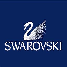 Swarovski frame logo