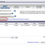 Registration Screen 8