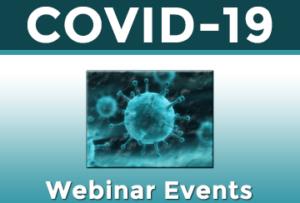 COVID-19 Webinar Events Banner