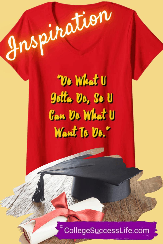 New Student Inspiration