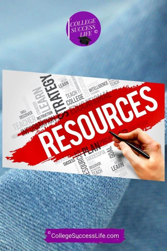 College Academic Resources