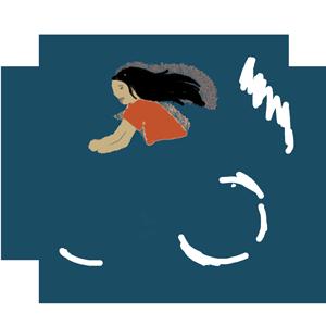 girl on bike icon