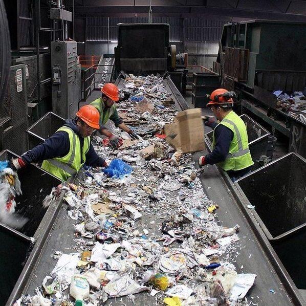 Trash processing