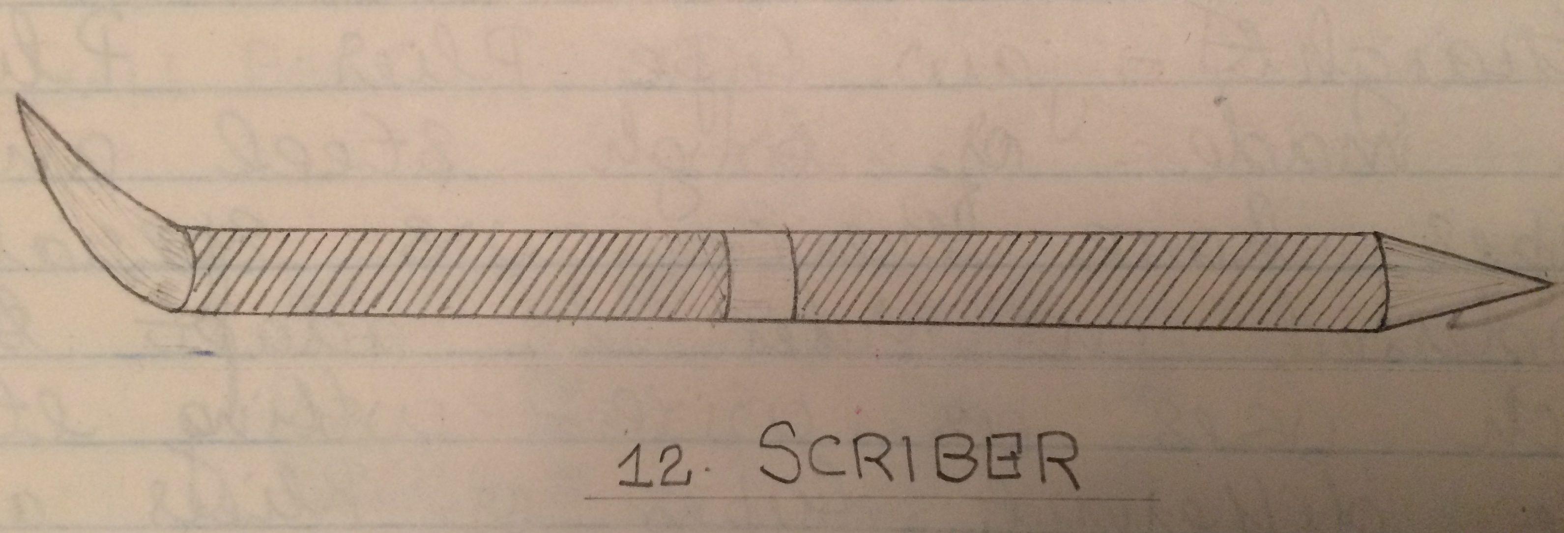 Scriber