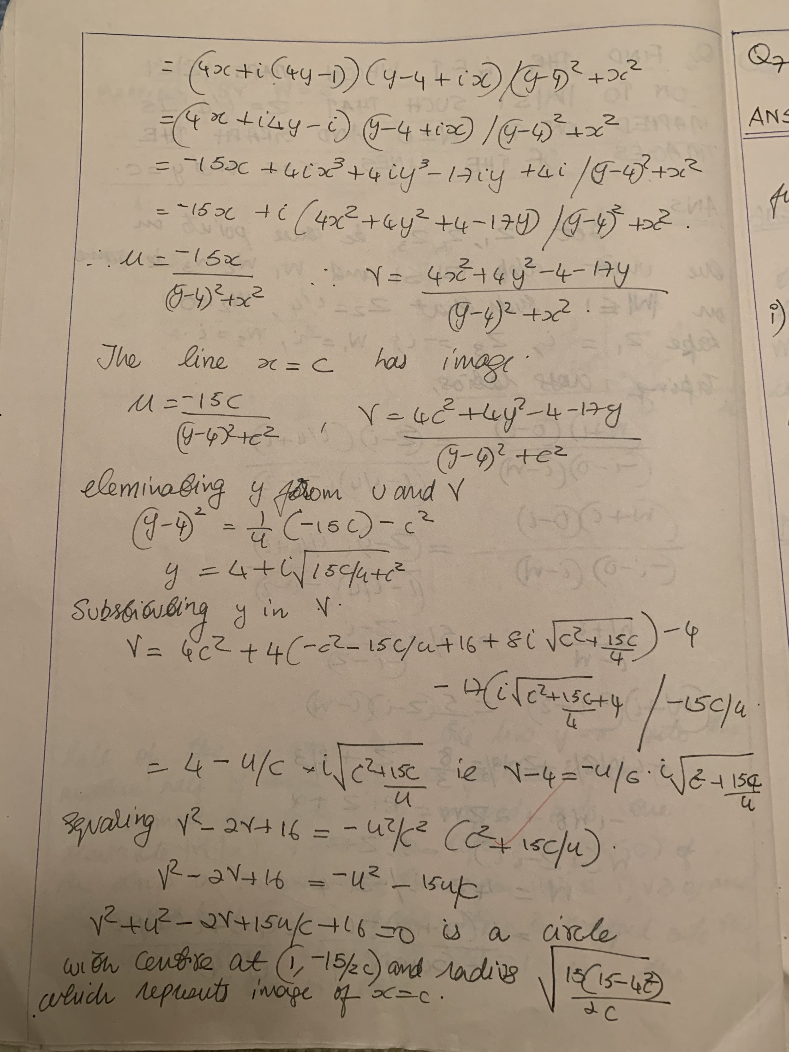 Finding Linear Fractional Transformation