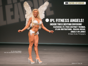 IPL FITNESS ANGELS! INSIDE THIS EXCITING DIVISION!