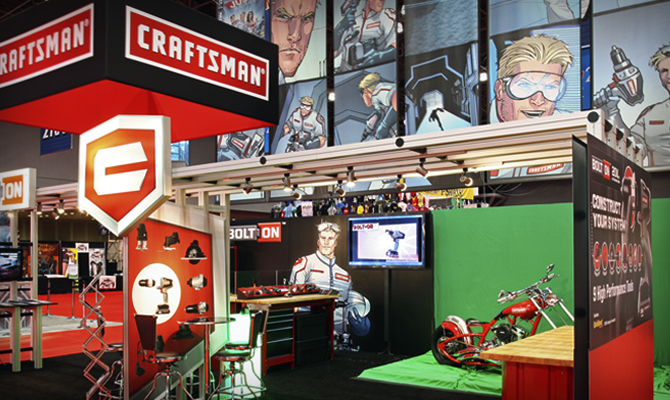 Craftsman Trade Show Booth