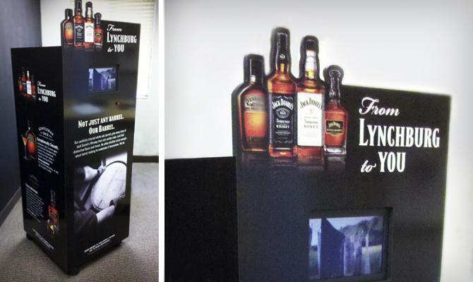 Jack Daniels Video Kiosks