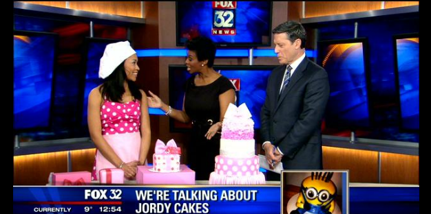 JordyCakes Boutique Feature on Fox 32 News