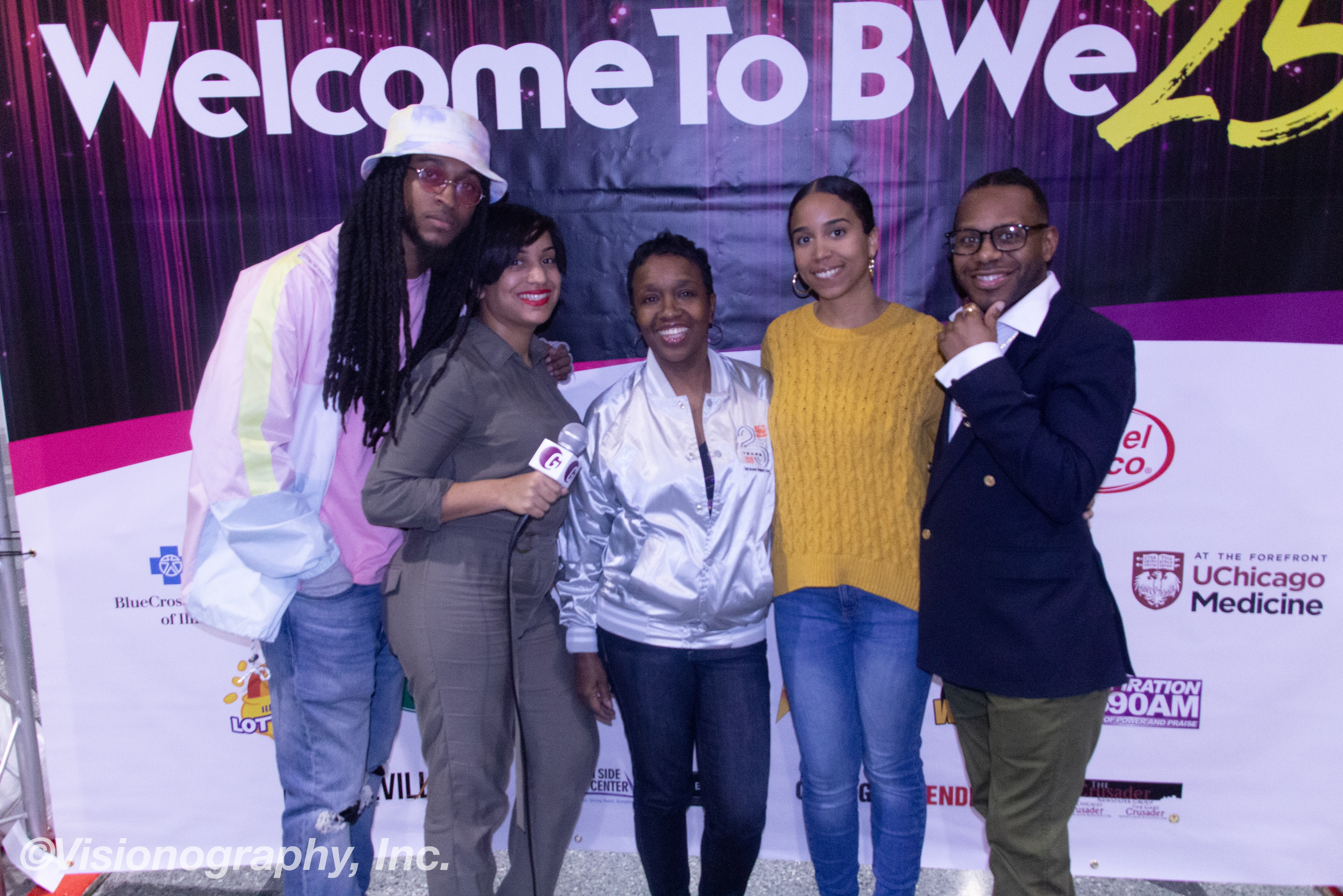 Donnel Perry, Ajshra Harper, Merry Green, Briea Chanel and Minister Israel Azaiah