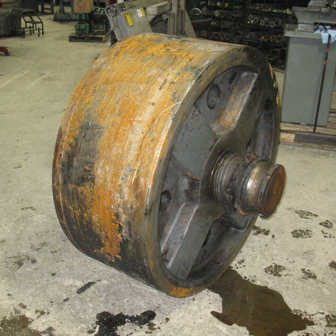 Trunnion - Before