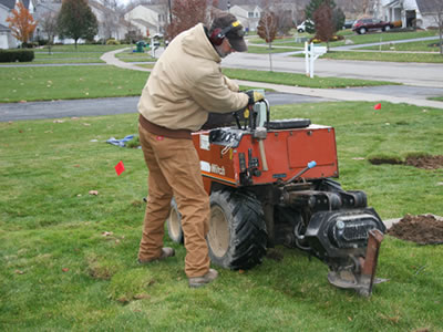 Automatic Sprinkler system installation in Rochester, NY