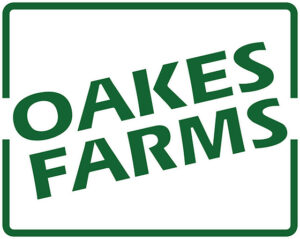 oakes farms logo green