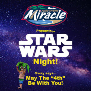 Miracle's Game-Star Wars Night! @ CenturyLink Sports Complex