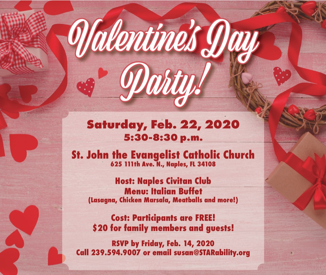 Valentine's Day Party @ St. John the Evangelist Catholic Church