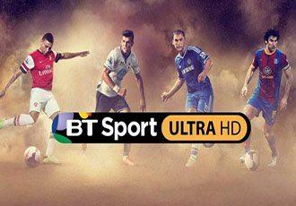 This is BT Sport's new premium Ultra HD 4K live sportscast channel-s