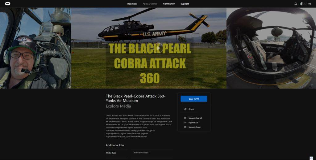 The Black Pearl Cobra Attack 360