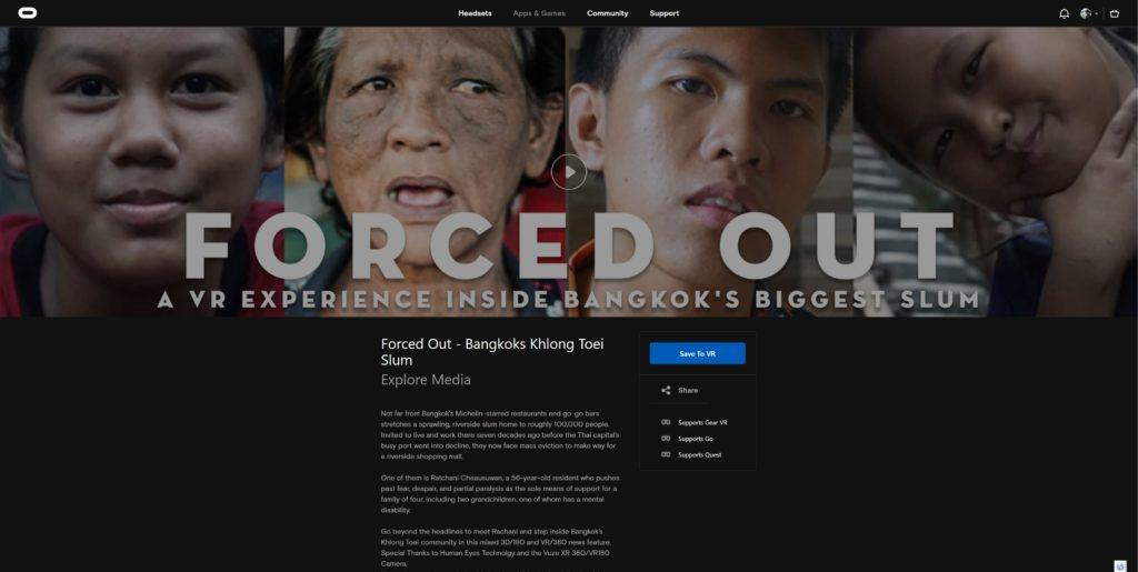 Forced Out Bangkok's Khlong Toei Slum