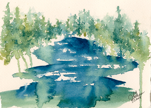 High Sierra River