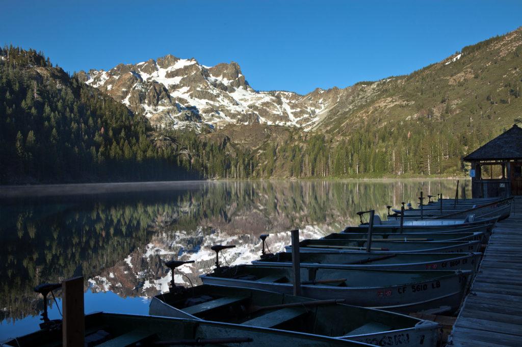 Boats Sardine Lake